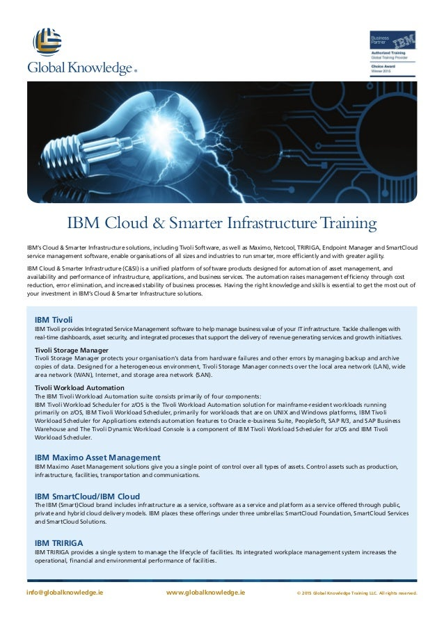 Ibm cloud & smart infrastructure