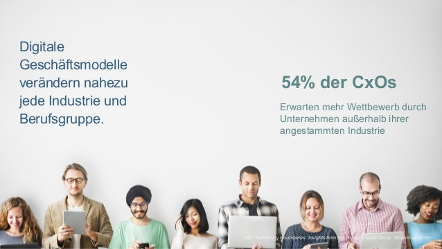 5Page© 2016 IBM Corporation IBM, Redefining Boundaries: Insights from the Global C-suite Study, November 2015. Erwarten me...