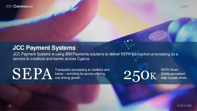 JCC Payment Systems JCC Payment Systems is using IBM Payments solutions to deliver SEPA transaction processing as a servic...