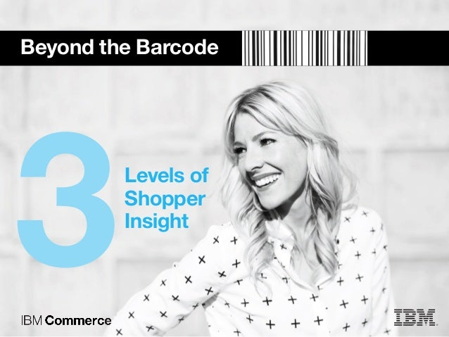 Beyond the Barcode Levels of Shopper Insight 3
