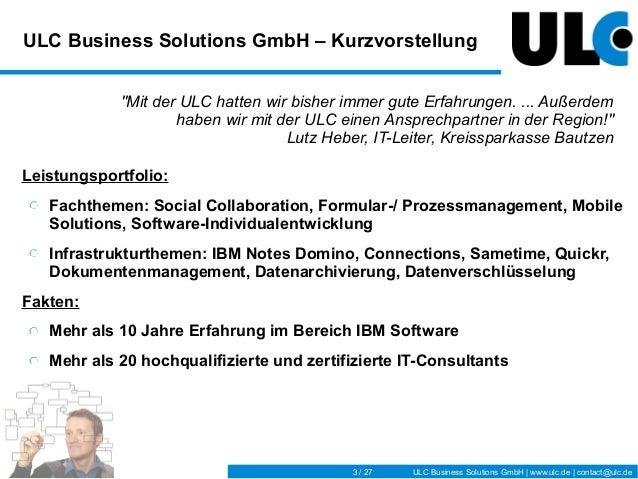 IBM Connectday_ULC-Vortrag_Formularmanagement Slide 3