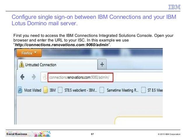 Ibm connections 45 integration from zero to social hero 20 wi 57 colourmoves
