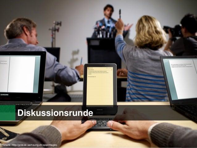 Diskussionsrunde  Picture: http://presse.samsung.ch/app/images  27