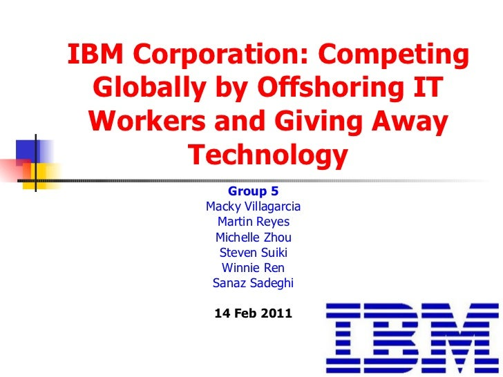 IBM's Generic Strategy & Strategic ... - Panmore Institute