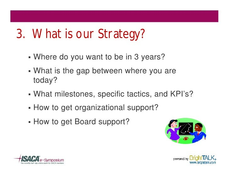 3. What is our Strategy?   §   Where do you want to be in 3 years?   §   What is the gap between where you are       today...