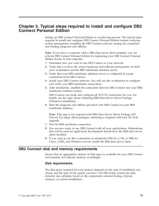 Ibm db2 10 5 for linux, unix, and windows db2 connect installing an…
