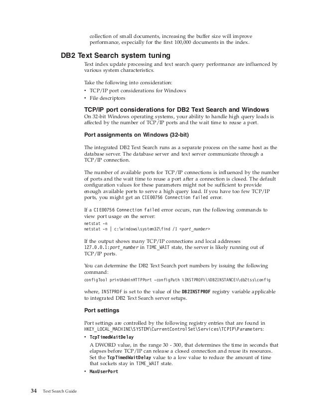 Ibm db2 10 5 for linux, unix, and windows text search guide