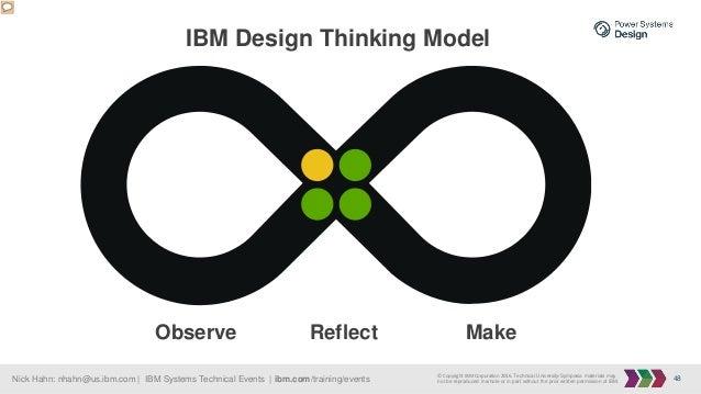 48Nick Hahn: nhahn@us.ibm.com   IBM Systems Technical Events   ibm.com/training/events © Copyright IBM Corporation 2016. T...