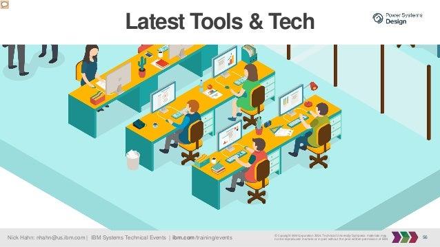 56Nick Hahn: nhahn@us.ibm.com   IBM Systems Technical Events   ibm.com/training/events © Copyright IBM Corporation 2016. T...