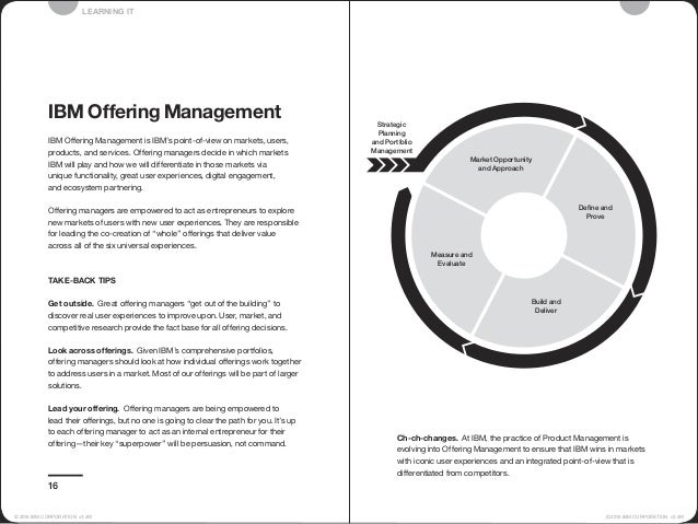 Strategic Planning and Portfolio Management Define and Prove Measure and Evaluate Build and Deliver Market Opportunity and...