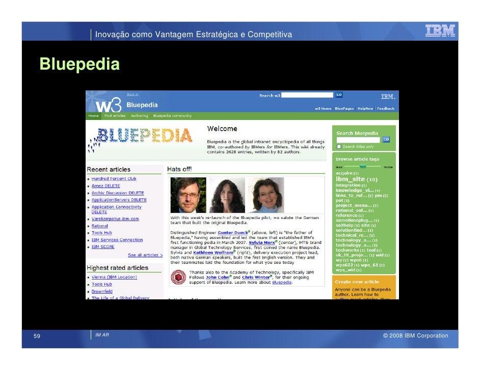 Inovação como Vantagem Estratégica e Competitiva    Bluepedia                                                             ...