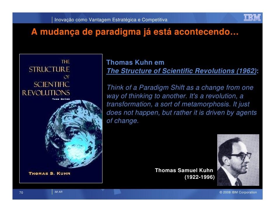 Inovação como Vantagem Estratégica e Competitiva       A mudança de paradigma já está acontecendo…                        ...