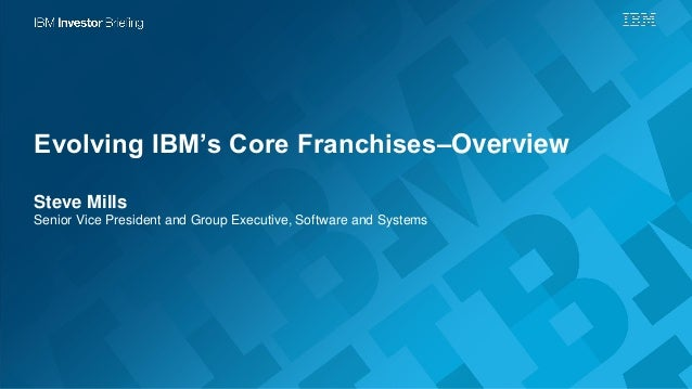 the evolving strategy at ibm Executing this strategy required seamless integration of ibm's product  capabilities with its geographic reach this meant abandoning ibm's.