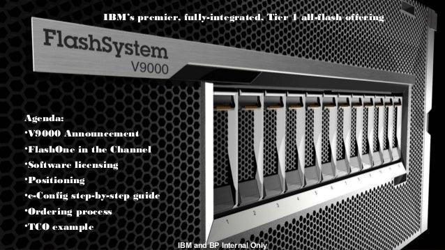 © 2015 IBM Corporation3 IBM and BP Internal Only IBM's premier, fully-integrated, Tier 1 all-flash offering Agenda: •V9000...