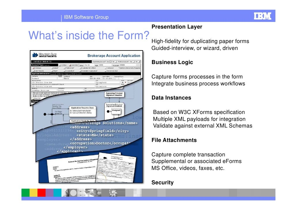 Ibm Forms Streamline Your Business Reduce Cost And Paper