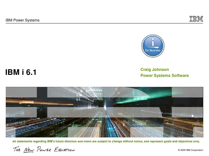 IBM Power Systems                                                                                                     Crai...