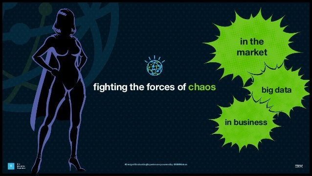 IBM Interactive Experience fighting the forces of chaos 6 in the market big data in business #Design #EnchantingExperiences...