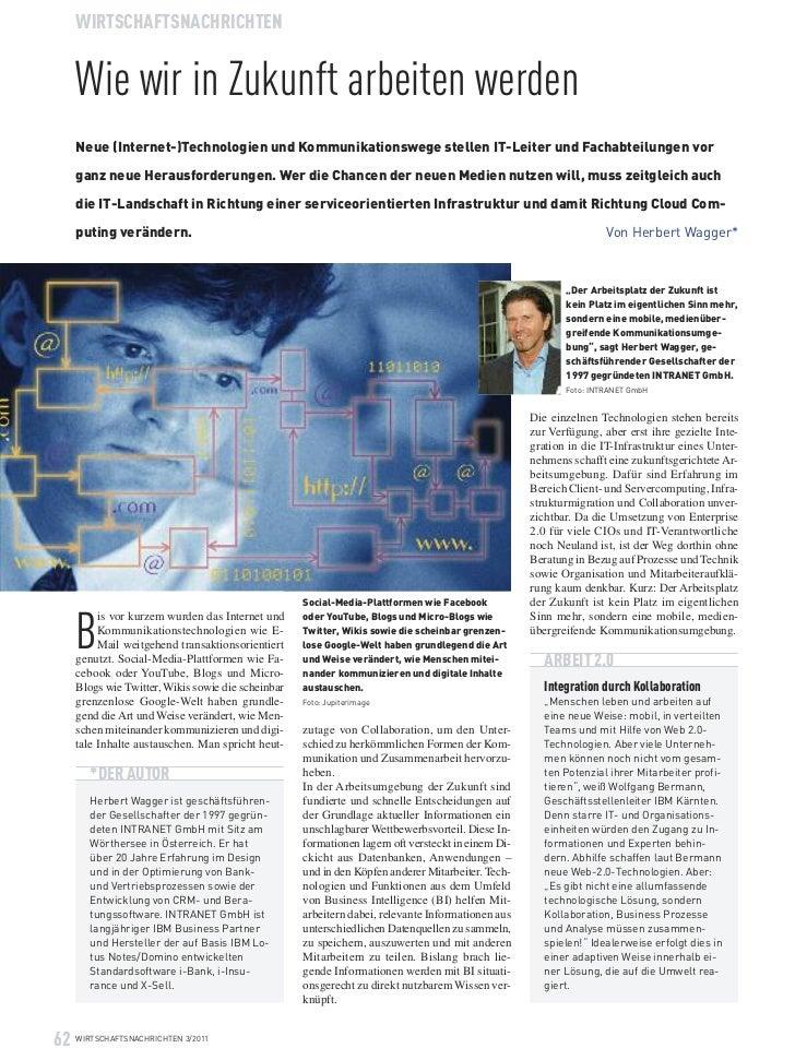 Neue (Internet-)Technologien und Kommunikationswege stellen IT-Leiter und Fachabteilungen vor     ganz neue Herausforderun...
