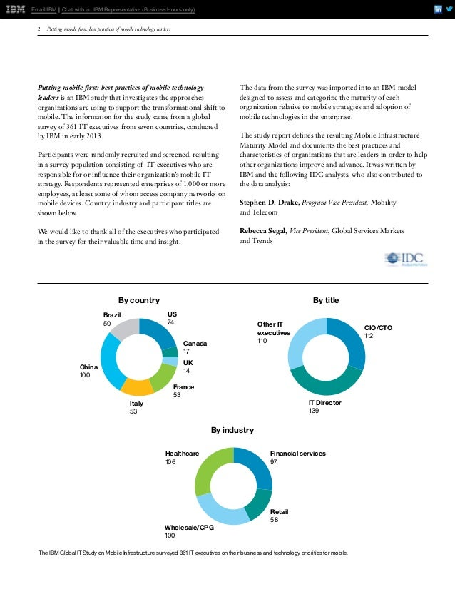 IBM Mobile First Enterprise Report Slide 2