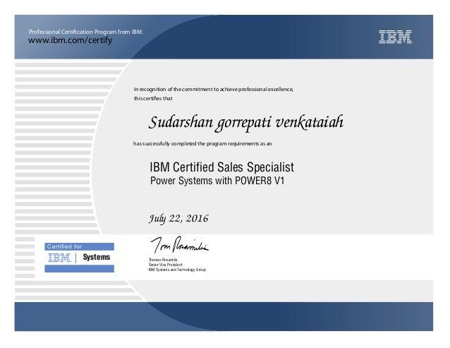 ibm certification power systems slideshare upcoming