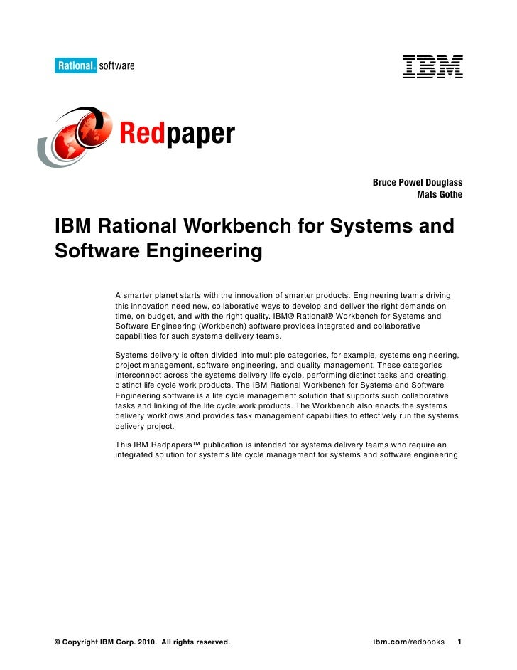 IBM Rational Accelerator for Systems & Software Engineering paper