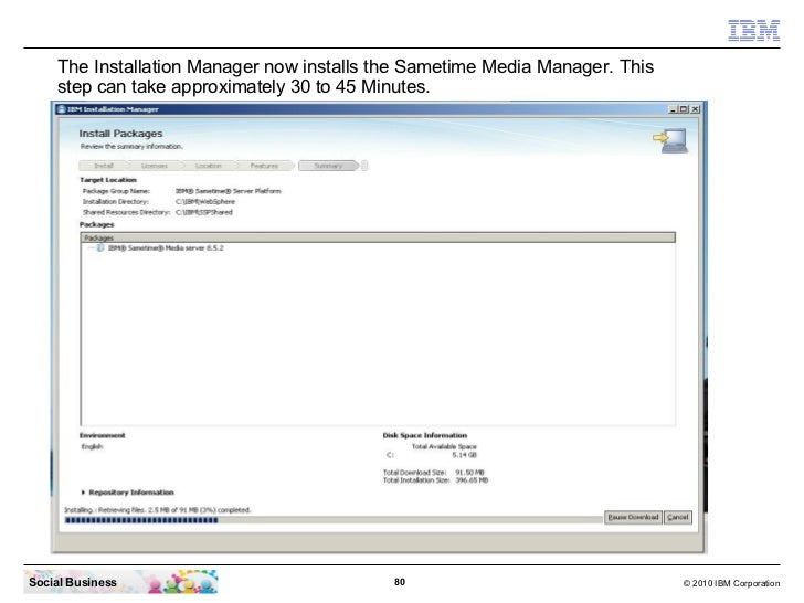 Ibm sametime 852 installation from zero to hero edge components colourmoves