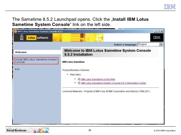 How To Download And Install Ibm Lotus Sametime Connect 852
