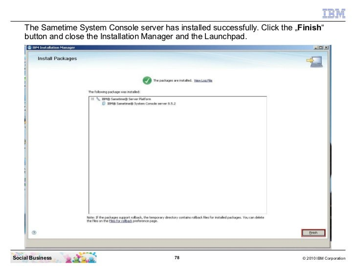 Ibm sametime 852 installation from zero to hero basics 2112 social business 77 2010 ibm corporation 78 the sametime colourmoves