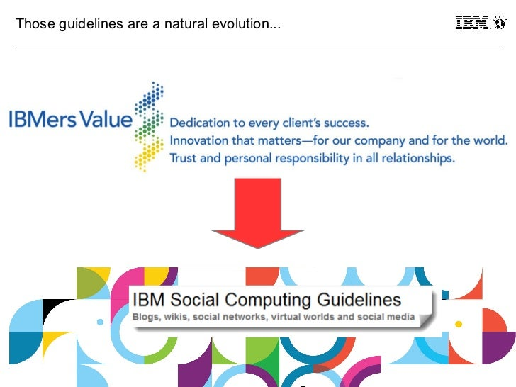 Those guidelines are a natural evolution...12