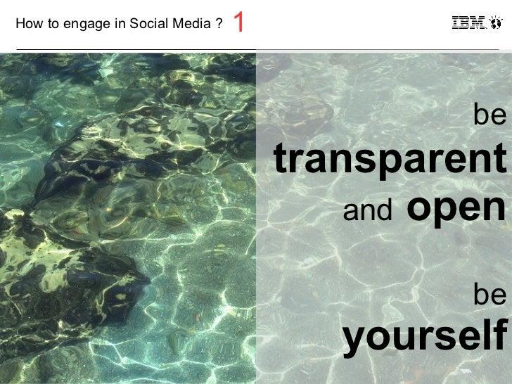 How to engage in Social Media ?   1                                                            be                         ...