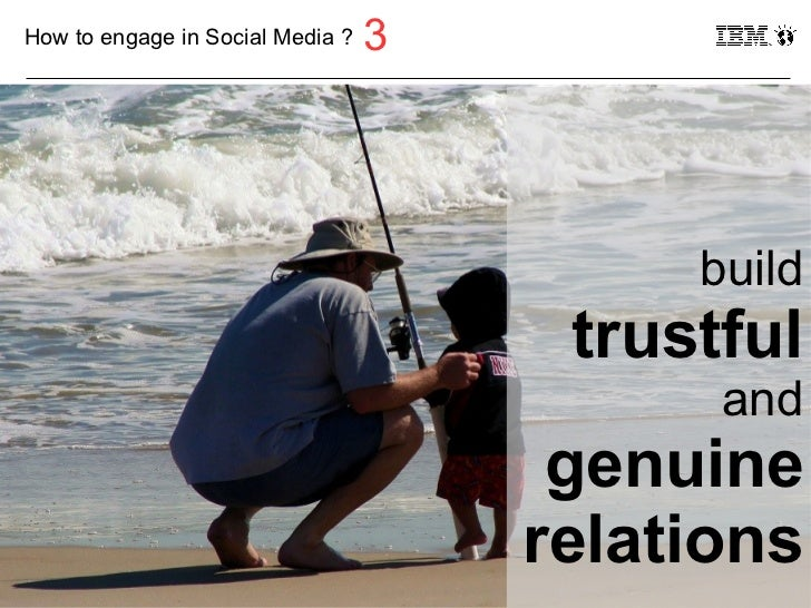 How to engage in Social Media ?   3                                              build                                    ...