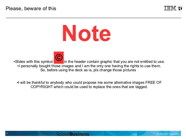 Please, beware of this                                     Note    ●   Slides with this symbol                            ...
