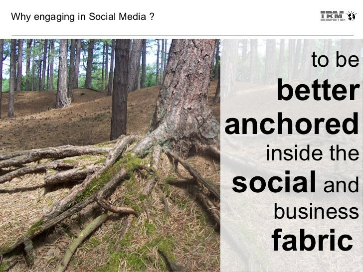 Why engaging in Social Media ?                                        to be                                    better     ...