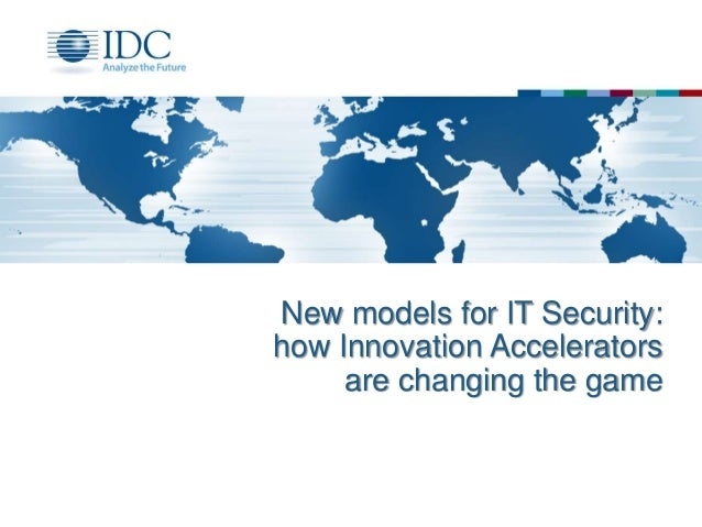 New models for IT Security: how Innovation Accelerators are changing the game