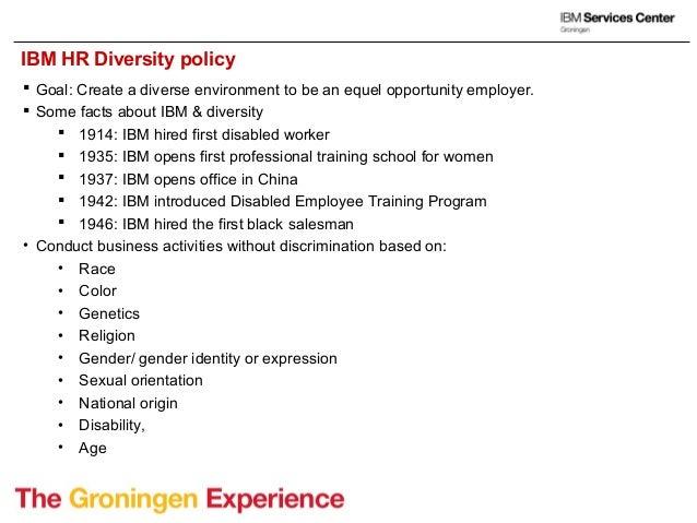 ibm workforce diversity program