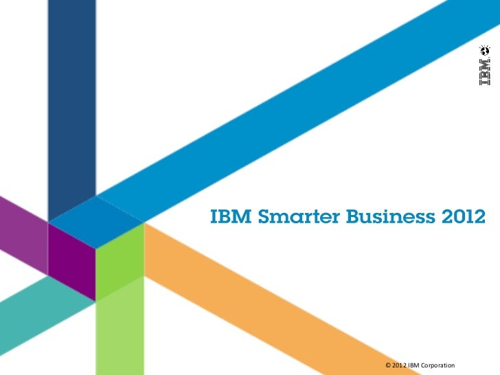© 2012 IBM Corporation