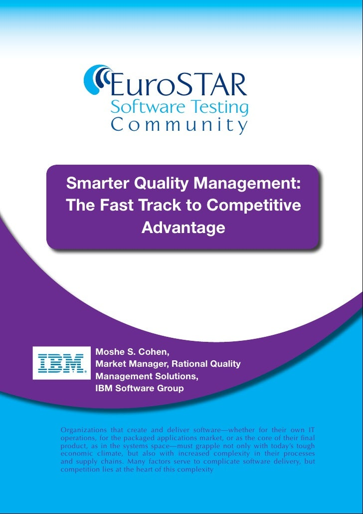 EuroSTAR                                   Software Testing                                   Community             Smarte...