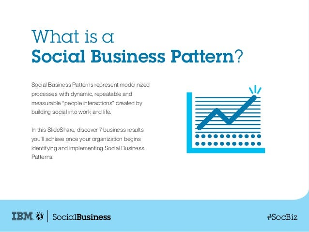 Rethinking Business Process: 7 Benefits to Understanding Social Business Patterns Slide 2