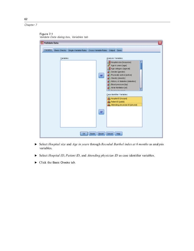 missing value analysis spss 19 serial number