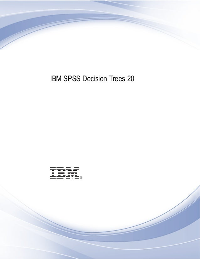 i IBM SPSS Decision Trees 20