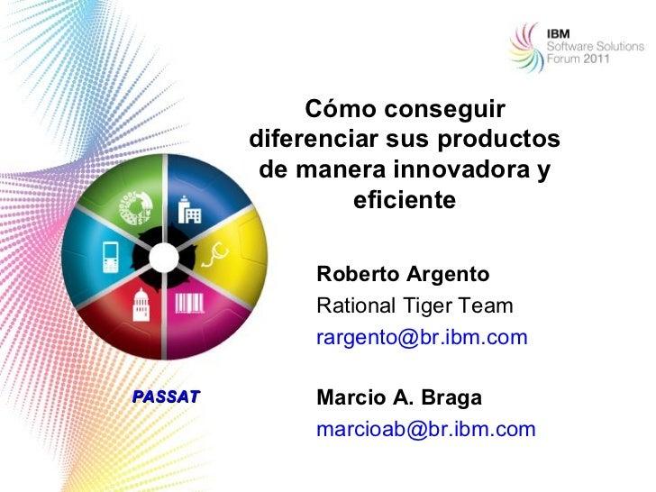 Cómo conseguir         diferenciar sus productos          de manera innovadora y                  eficiente              R...