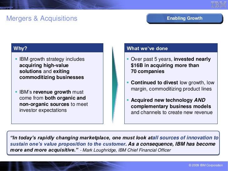 IBM's Transformation Journey