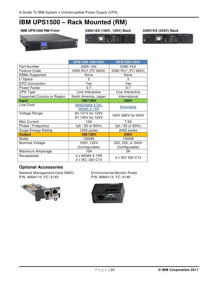 ibm system x ups guide v1 6 0