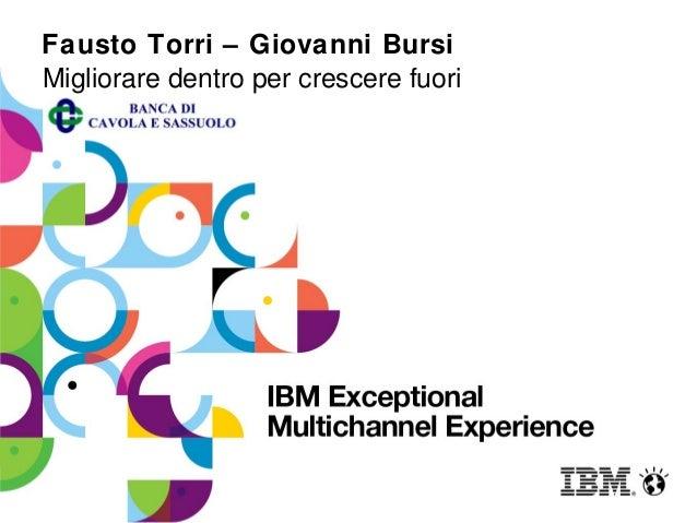 Fausto Torri – Giovanni BursiMigliorare dentro per crescere fuori