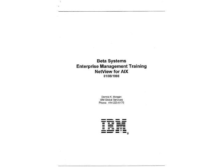 IBM Training Presentation