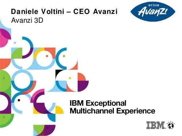 Daniele Voltini – CEO AvanziAvanzi 3D