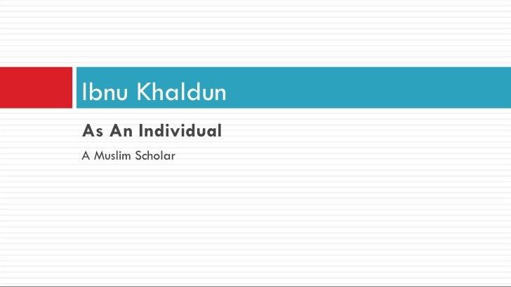 Ibnu Khaldun Slide 3