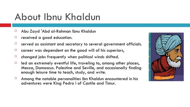 the political theory of ibn khaldun pdf