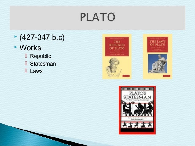 Plato's Revolution Work