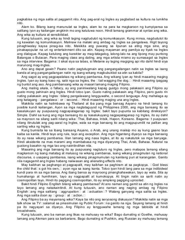 Wikang Makapangyarihan, Kayang Magtama Ng Maling Pamamaraan